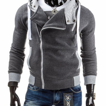 Hot Selling,2015 Spring&Autumn Men's Fashion Brand Hoodies Sweatshirts ,Casual Male Hooded Jackets Brand,dropship Male Hoodie