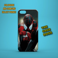 WEB SLINGER Design Custom Phone Case for iPhone 6 6 Plus iPhone 5 5s 5c iphone 4 4s Samsung Galaxy S3 S4 S5 Note3 Note4 Fast!