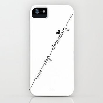 ♥ ♥ ♥    NEVER STOP DREAMING    ♥ ♥ ♥     iPhone Case by M✿nika  Strigel FOR IPHONE 5 + 4S + 4 + 3 GS + 3 g + Pillow + SKIN + ipod touch