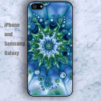 Mandala sea animal iPhone 5/5S case Ipod Silicone plastic Phone cover Waterproof