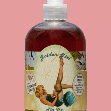 Golden Girl Pin-up Tuberose Liquid Soap