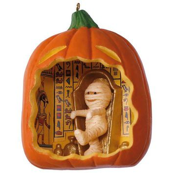 Happy Halloween! Mummy Ornament