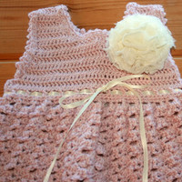 vintage inspired alpaca crochet baby dress girl clothes online luxury etsy shower gifts 3 -6m special occasion wedding bridesmaid party