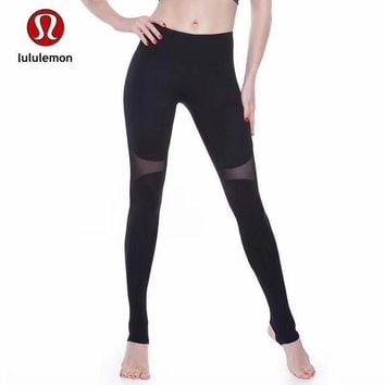 CREYUP0 Lululemon Women Fashion Gym Yoga Exercise Fitness Leggings Sweatpants-8