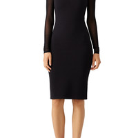 Opening Ceremony Black Imogen Ottoman Dress
