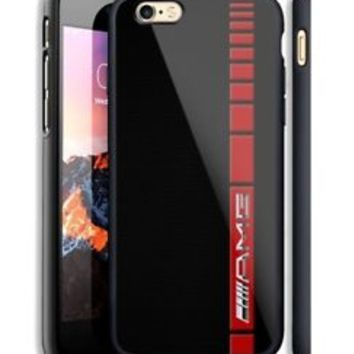 Mercedes Benz AMG Stripe Fit Hard Case For iPhone 6 6s Plus 7 8 Plus X Cover +