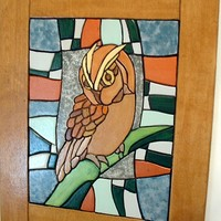 Owl, Wood Wall Art, Abstract, Wood Sculpture, Wall Decor.