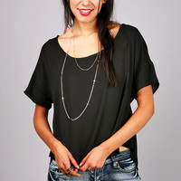 Free Fall Blouse | Chiffon Tops at Pink Ice
