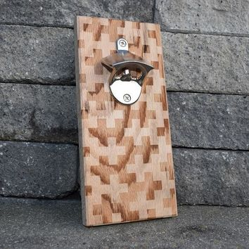 Wall Mounted Bottle Opener with Magnet – Standard Designs