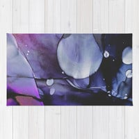 A Violet Gaze Rug by duckyb