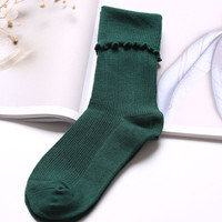 1 Pair Fashion Wool blend Women Winter Warm Casual Solid Socks ladies cute Socks Female Thermal Warm Socks