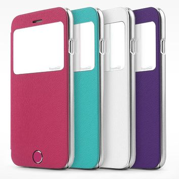 Skinplayer Trenther View Original Flip Case for iPhone 6