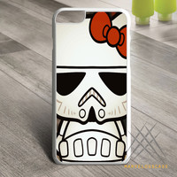 Hello Kitty Stormtrooper Custom case for iPhone, iPod and iPad