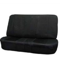 FH-FB060R010S2 Jeep Wrangler Sandwich Fabric Bench Seat Covers Black