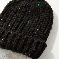 Speckled Cuffed Beanie - Urban Outfitters