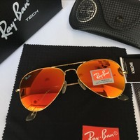 Ray Ban Fashion Sunglasses Rb3025 Gold/orange | Best Deal Online