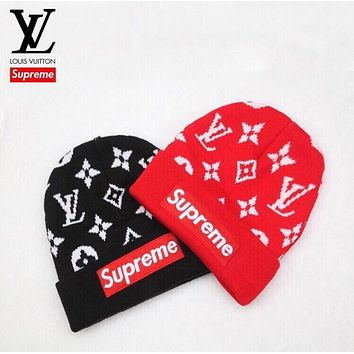 ABDCCK Supreme x Louis Vuitton Beanie