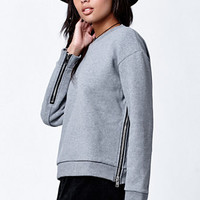 OBEY Undercover Zippered Crew Neck Sweatshirt at PacSun.com