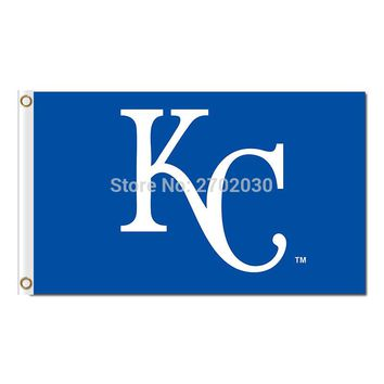 KC Country Kansas City Royals Flag Baseball Fan Team Banners Flags And World Series Champions 90x150 Cm Banner 100d Polyester