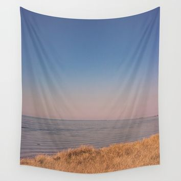 Sit & Wonder Wall Tapestry by Faded  Photos