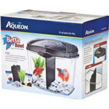 Aqueon Products - Glass - Betta Bowl Kit With Divider