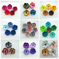 hand made 32 colors men's lapel flower brooch pins-----event & wedding boutonnie