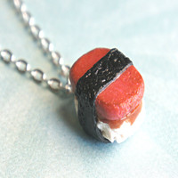Spam Musubi Necklace