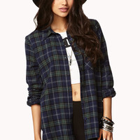Multi-Color Plaid Shirt