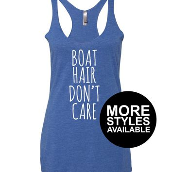 Boat Hair Don't Care, Graphic Tee