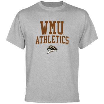 Western Michigan Broncos Athletics T-Shirt - Ash
