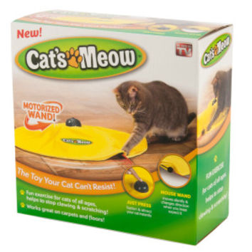 As Seen on TV Cat's Meow Motorized Wand Cat Toy | Toys | PetSmart