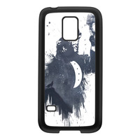 Wolf Song 3 Black Silicon Rubber Case for Galaxy S5 Mini by Balazs Solti