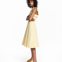 Ruffled Dress - from H&M