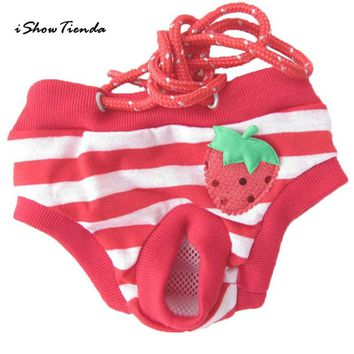 Hot!Cute Pet Dog Panty Brief Bitch In Season Sanitary Pants For Girl Female New