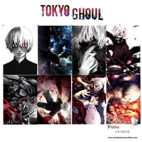 New Tokyo Ghoul Anime Wall Poster 8 pcs. Home Decor A3 Poster Set WP03