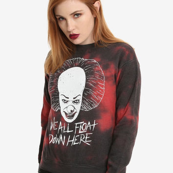 IT Red Tie Dye Girls Sweatshirt