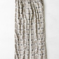 AEO Women's Printed Wide Leg Soft Pant