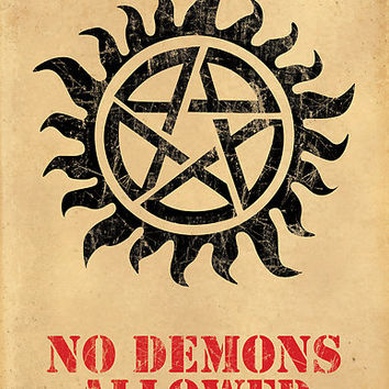 Supernatural - No Demons Allowed [BLACK]