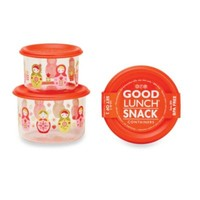 Sugarbooger® by o.r.e Matryoshka Doll Good Lunch® Snack Containers (Set of 2)