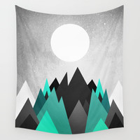 Cold Planet Wall Tapestry by Elisabeth Fredriksson