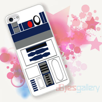 R2D2, Star Wars for iPhone 4/4S, iPhone 5/5S, iPhone 5C, iPhone 6 Case - Samsung S3, Samsung S4, Samsung S5 Case