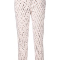 Michael Kors cropped 'Samantha' trousers