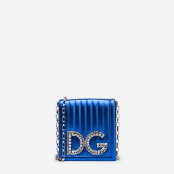 Women's Bags and Purses | Dolce&Gabbana - DG GIRLS CROSS-BODY BAG IN QUILTED MORDORÉ NAPPA LEATHER