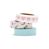 stick with it paper tape set, set of 3