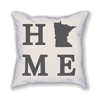 Minnesota Home State Pillow