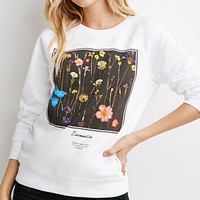 Floral Graphic Sweatshirt