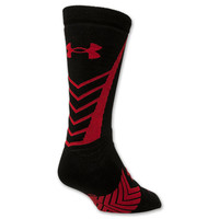 Youth Under Armour Undeniable Crew Socks- Large