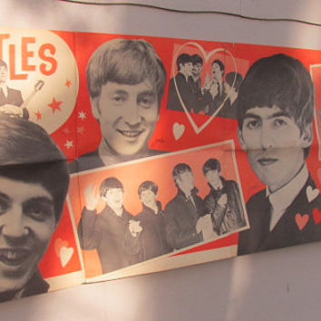 Vintage Beatles Poster, Beatles Dell Poster, 1964 Beatles Poster, Beatles Memorabilia, Music Memorabilia, Rock and Roll History
