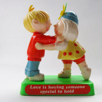 Love is Having Someone Special to Hold plastic figurine