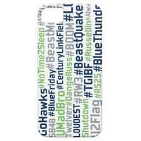 Seattle Seahawks Hashtags iPhone case
